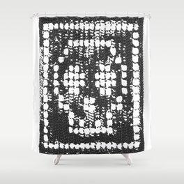 Crochet Impressions: SKULL Shower Curtain