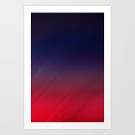 Get your Happy On   Abstract Art Print