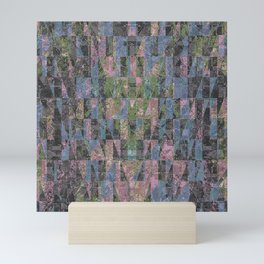 SHATTERED PIECES Mini Art Print