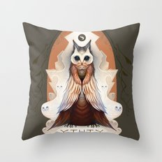 Ytuty Lord of Owls Throw Pillow