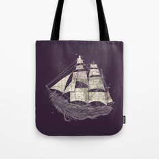 Wherever the wind blows Tote Bag