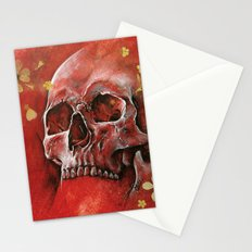 Red Vanity Stationery Cards
