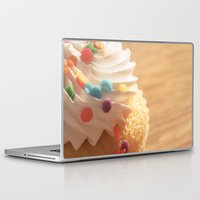 cupcake Laptop & iPad Skins featuring cupcake by Susigrafie
