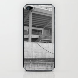 katowice stadion, texture photography, architecture iPhone Skin