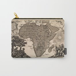 Map Of Africa 1737 Carry-All Pouch