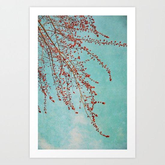 branĉoj Art Print