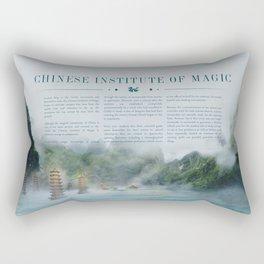 Wizarding Schools Around the World: China Rectangular Pillow