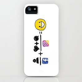 Color equation iPhone Case