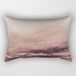 PINK & GOLD & BLACK TOUCHING #1 #abstract #decor #art #society6 Rectangular Pillow