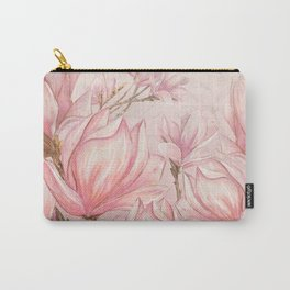 Vintage Garden (Magnolia Passion) Carry-All Pouch