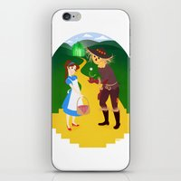 oz iPhone & iPod Skins featuring Oz by Kyrstin Avello