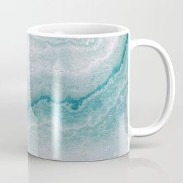 Sea green marble texture Coffee Mug