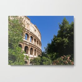 The Colosseum in Rome Metal Print