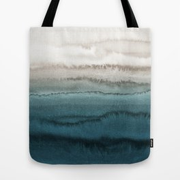 WITHIN THE TIDES - CRASHING WAVES TEAL Tote Bag