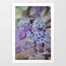 twilight bouquet Art Print