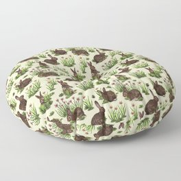 Rabbit Pattern Design Floor Pillow