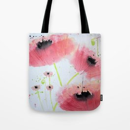 Poppy Ballet Tote Bag