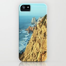 Cabo da Roca, Portugal Analog 6x6 Kodak Ektar 100 (RR 161) iPhone Case