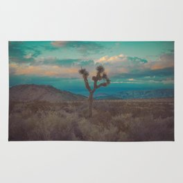 Joshua Tree Aqua Sunset Rug
