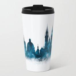 Prague Skyline Travel Mug