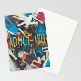 Adult-ish playtime Stationery Cards