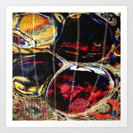 Caustic Colors Art Print