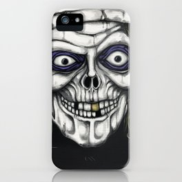Hat Box Ghost by Morose iPhone Case