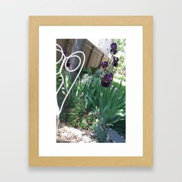 Grape Beard Framed Art Print