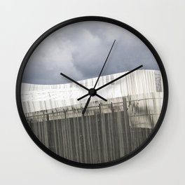 Waterfront Building Wall Clock
