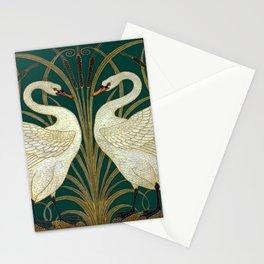 Walter Crane's Swan, Rush, Iris Stationery Cards