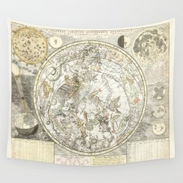 Star map of the Southern Starry Sky Wall Tapestry
