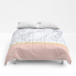 Marble Peach Comforters