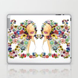 Flower Girl Two Laptop & iPad Skin