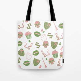 Mal-Mallow-slithering Tote Bag