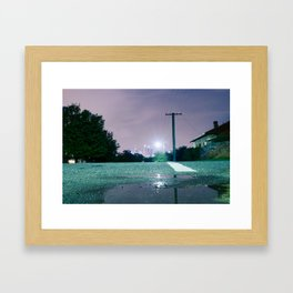Perth Framed Art Print