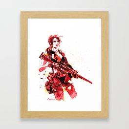 Silent Sniper  Framed Art Print