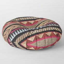 African Tribal Pattern No. 125 Floor Pillow