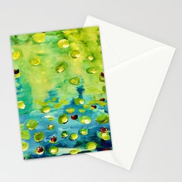 Lilies adaptation Stationery Cards