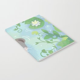 Otter in the Water Notebook