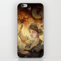 silent iPhone & iPod Skins featuring Silent Visions by Corinne Reid