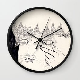 Lente de contacto Wall Clock