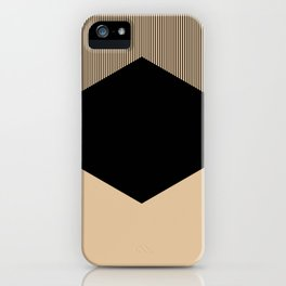 Black Hex iPhone Case