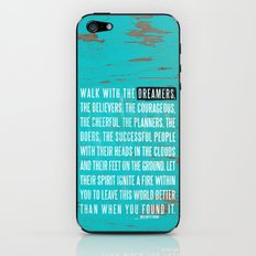 Walk with the Dreamers iPhone & iPod Skin