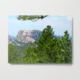Mt. Rushmore Metal Print
