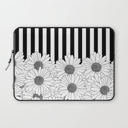 Daisy Stripe Laptop Sleeve