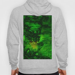 Abstract Design of Neon Green & Yellows Hoody