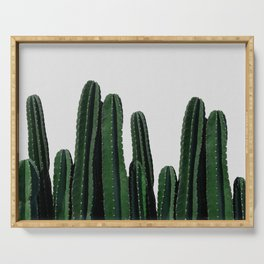 Cactus I Serving Tray