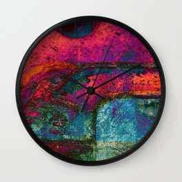 B-Abstract 01 Wall Clock