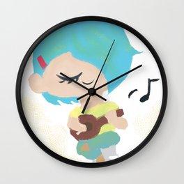 MusicGirl Wall Clock