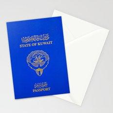 Kuwaiti Pass Port Stationery Cards